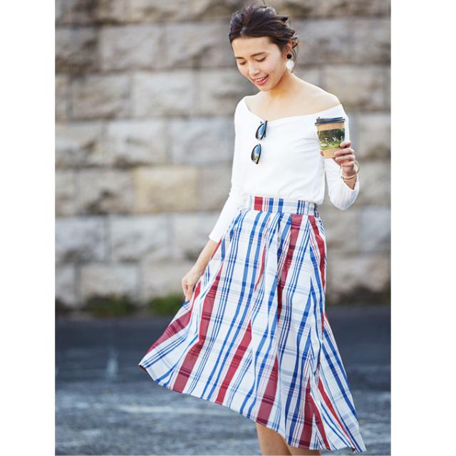 1月8日午前0:00再販【Check back tale skirt】レディース チェック スカート