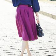 JJ1月号掲載3月22日午前0:00再販【Tuck mimore skirt】レディース  タック ミモレ スカート