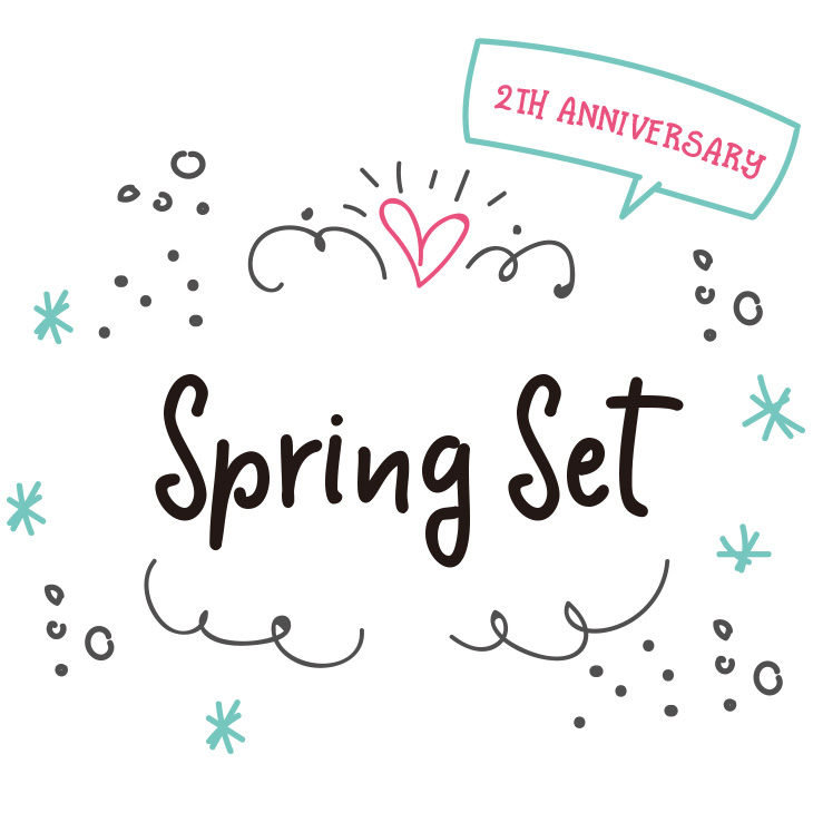 【☆2th Aniversary☆】Spring Set