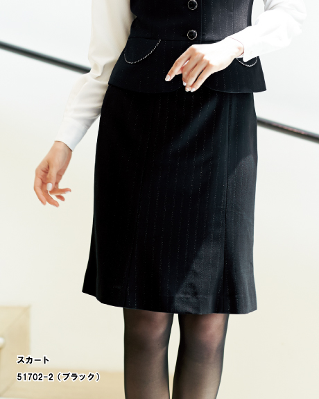 51702 en joie(アンジョア) 秋冬マーメイドスカート