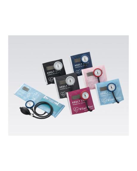 8-7092 ナビス(アズワン) カラー種類あり バイタルナビ アネロイド 血圧計