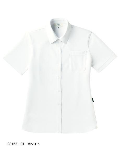 CR163 キラク (kiraku)  レディスニットシャツ