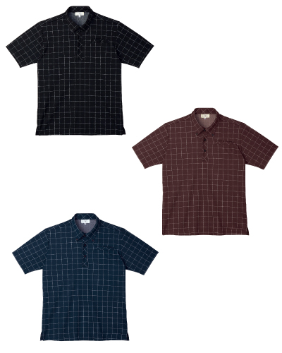 CR170 ボタンダウンシャツ 男女兼用 キラク(KIRAKU) 2016-17新商品