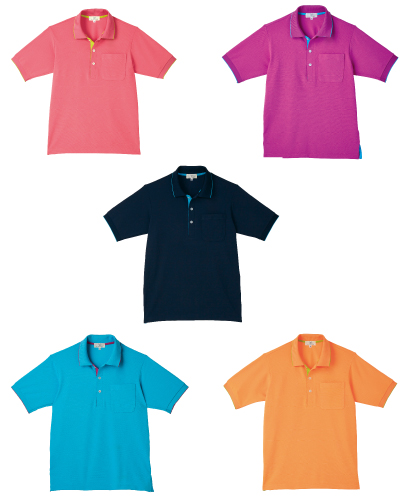 CR172 ポロシャツ 男女兼用 キラク(KIRAKU) 2016-17新商品