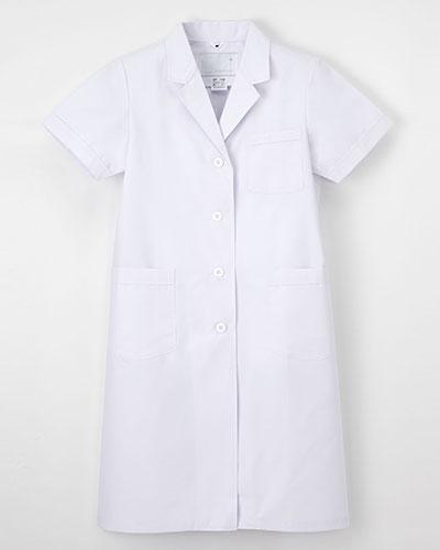 EP-132 ナガイレーベン(nagaileben)エミット レディス診察衣シングル型半袖