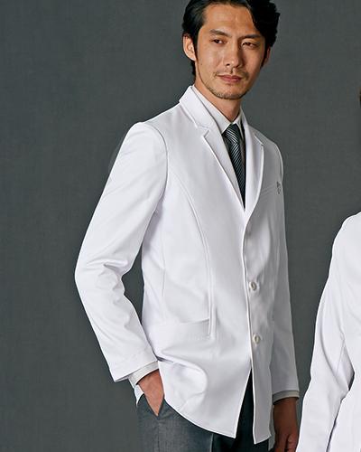 JK192-11 ドクターコート(ショート丈) メンズ 【JUNKO KOSHINO(コシノ ジュンコ)】