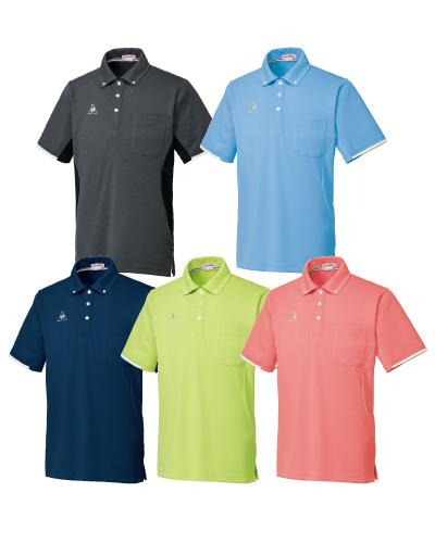 UZL3052 ルコックスポルティフ 男女兼用 ボタンダウンシャツ 2017年新商品