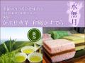【水無月】かぶせ煎茶(新茶)と和風かすてら※送料無料