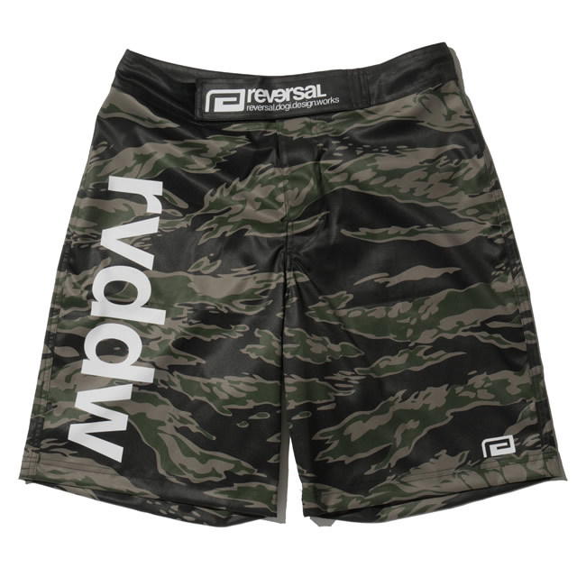 NIGHT TIGER CAMO WORKOUT SHORTS