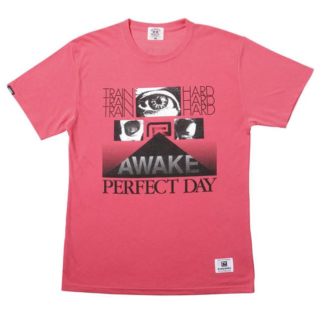 AWAKE DRY H/MESH TEE