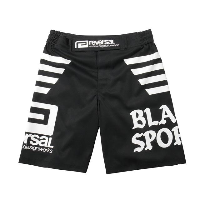 BLACK SPORTS FIGHT SHORTS