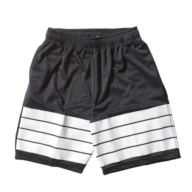 RING ROPE MESH JERSEY SHORTS