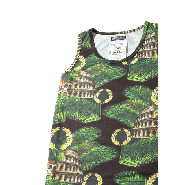 PALM LEAF COLOSSEUM TANK TOP