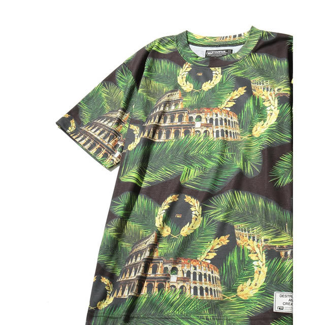 PALM LEAF COLOSSEUM TEE