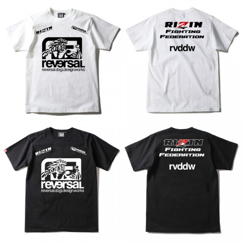 RIZIN × rvddw BIG MARK TEE