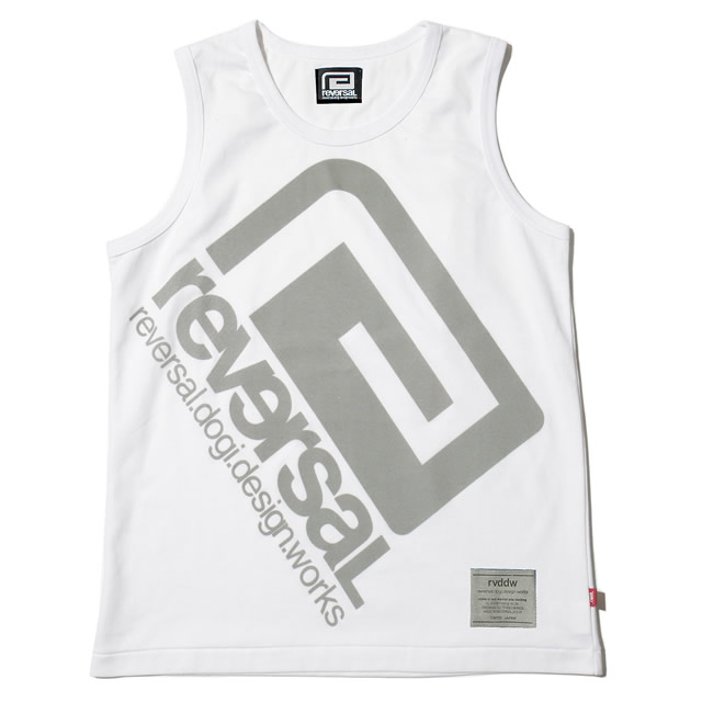 REFLECTOR LOGO TANK TOP