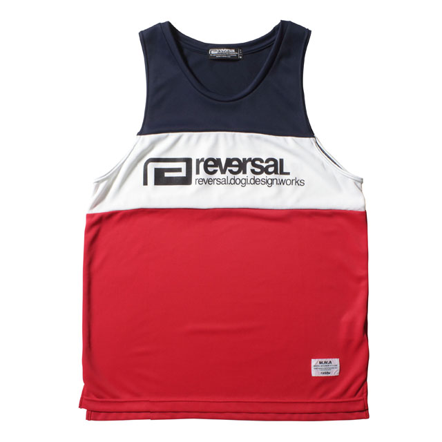 SWITCH COLOR MESH JERSEY TANK TOP