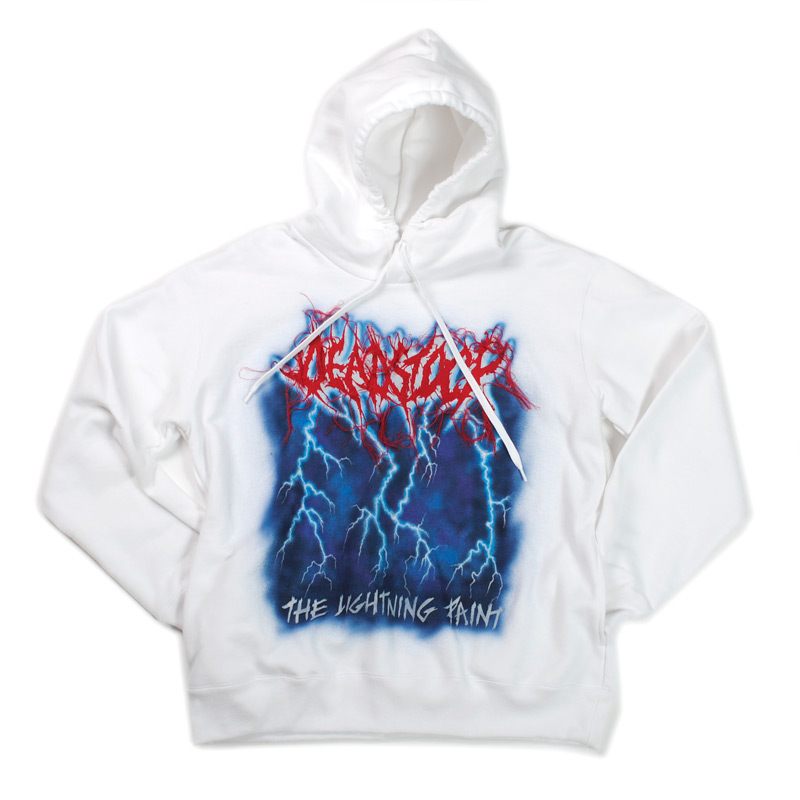 doublet/ダブレット DEADSTOCK EMBROIDERY HOODIE WITH HAND-PAINT
