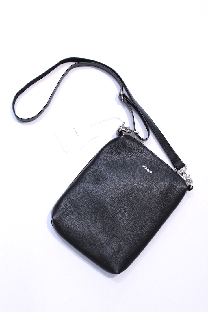 KAIKO/カイコー LEATHER SHOULDER BAG BA-001