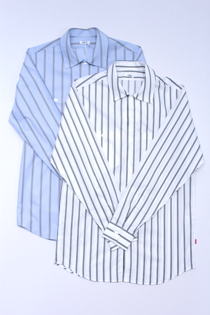 KAIKO 17-084 THE WOKER SHIRT STRIPE 2カラー