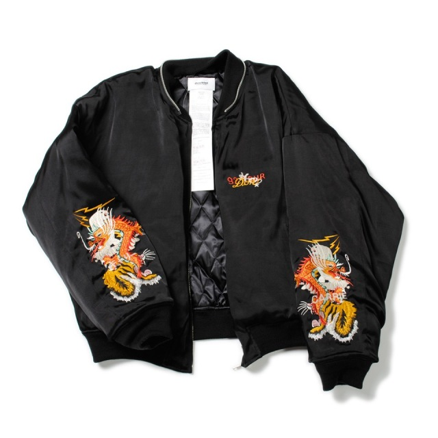 doublet/ダブレット CHAOS EMBROIDERY SOUVENIR JACKET