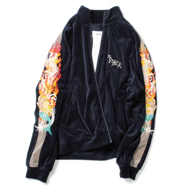 doublet/ダブレット CHAOS EMBROIDERY TRACK JACKET