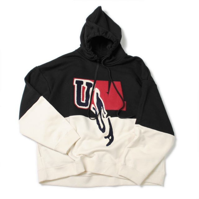 20%OFF doublet/ダブレット DROP PATCH EMBROIDERY HOODIE