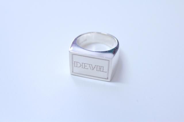 SUB-AGE/サベージ SILVER RING 17SS-SAAC-04 DEVIL