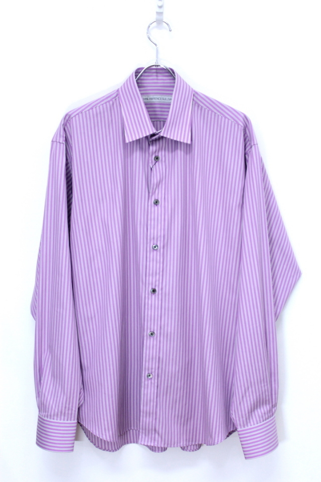 JOHN LAWRENCE SULLIVAN/ジョンローレンスサリバン STRIPE OVER SIZED SHIRT 3B003-0217-50