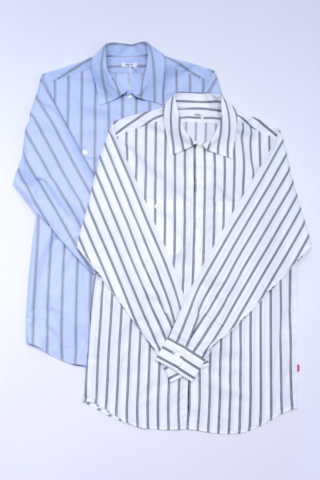 KAIKO/カイコー THE WOKER SHIRT STRIPE 17-084