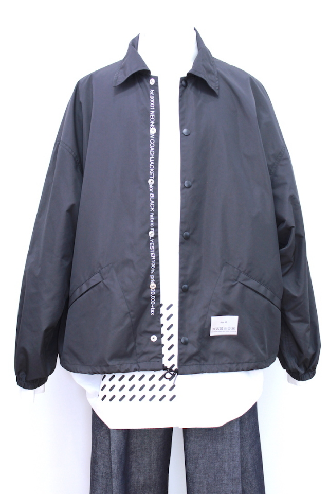 NEONSIGN LOT001 INDUSTRIAL COACH JACKET