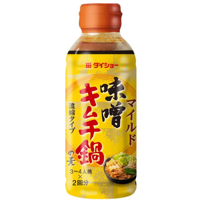 ダイショーの鍋スープ 【新商品】 味噌キムチ鍋の素 10個セット