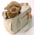 鞄屋さんの作った愛犬パラフィンキャリーバッグ S、Mサイズ【KS-8500】