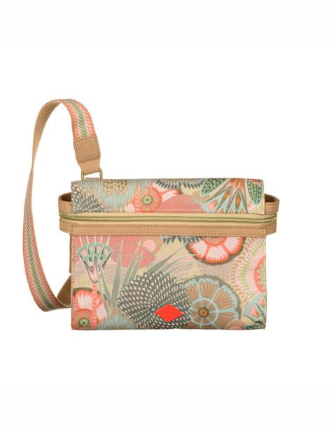 【OES6116-108】Oilily S Flat Shoulder Bag Peach Rose