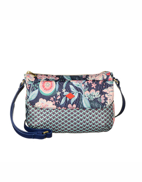 【OES6174-547】Oilily XS Shoulder Bag Lagoon Flower