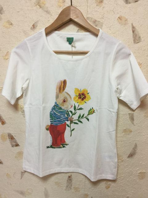 ルームセブンXナタリーレテ【S17GJE010】うさぎTシャツ 大人サイズ