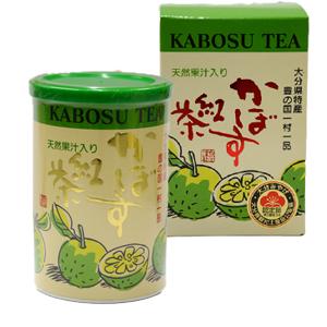 大分県特産豊の国一村一品【かぼす紅茶】天然果汁入り