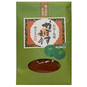 蔵元家伝仕込 麻生醤油【かぼす味噌】