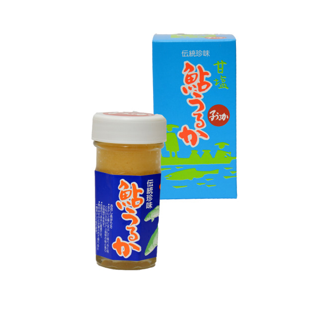 大分県産 伝統珍味!【鮎子うるか(甘塩)】80g