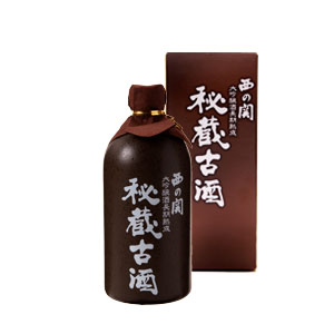 【清酒】萱島酒造 西の関大吟醸酒長期熟成『秘蔵古酒』