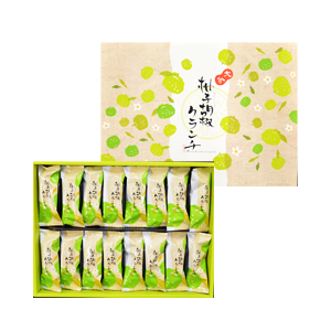 柚子胡椒クランチ 16本入