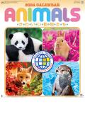 カレンダー 2017年名入れ用  『NK-104 かわいい動物たち』