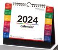 卓上カレンダー2017年名入れ用  『NK-541カラーインデックス(大)』