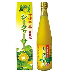 沖縄県産100%シークヮーサー 500ml