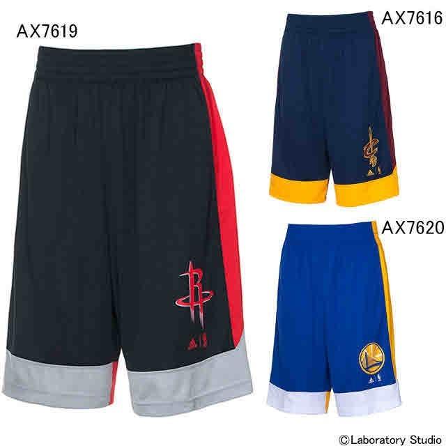 BKE80アディダス バスケットボール NBA WINTER HOOPS ショートパンツ