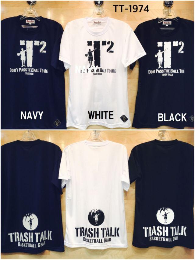(TT-1974) TRASH TALK Tシャツ バスケットボールウェア