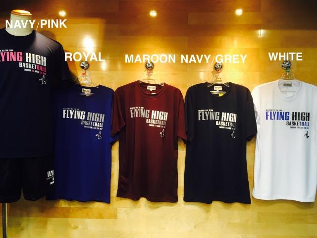 (FHT609)FLYING HIGH フライングハイ STEP BY STEP オリジナルTシャツ