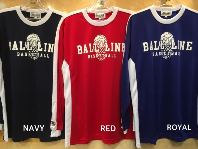 (BT-6867)BALL LINE ロングスリーブシャツ/ボールライン ロングスリーブシャツ