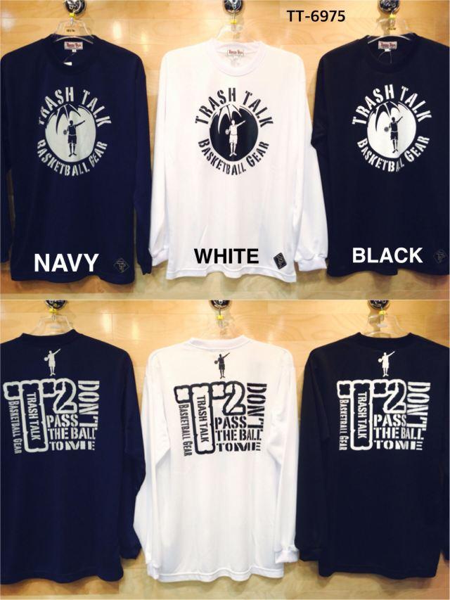(TT-6975) TRASH TALK ロングスリーブシャツ バスケットボールウェア