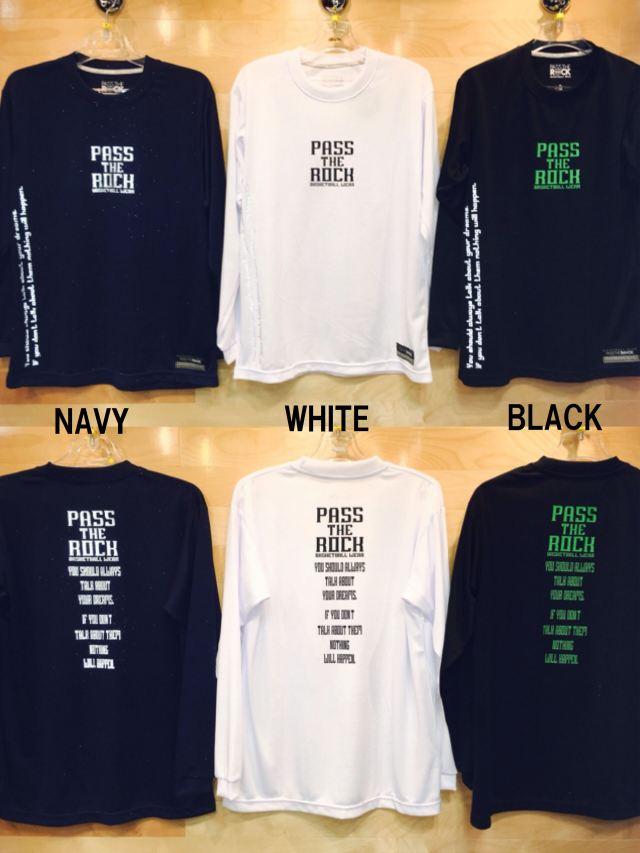 (PTR-6090)パスザロック PASS THE ROCK ロングスリーブシャツ BASKETBALL バスケットボール